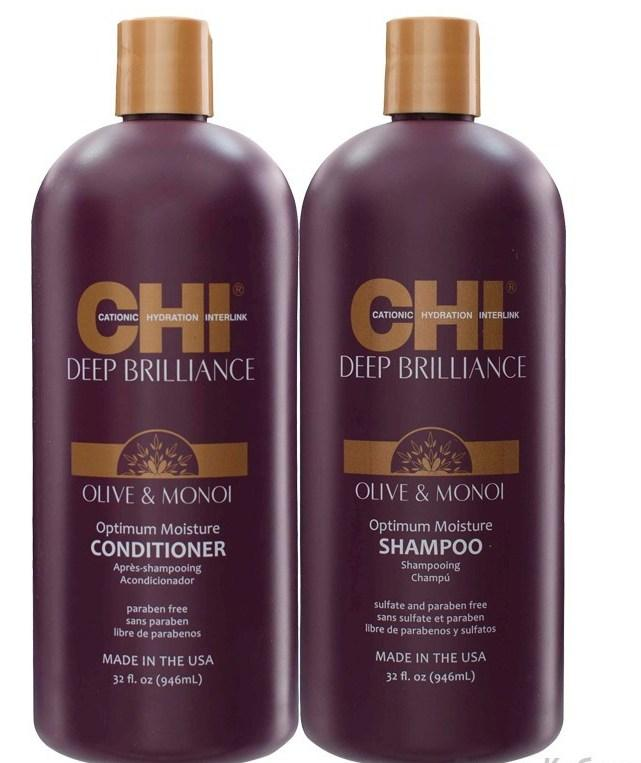 Набор CHI Deep Brilliance Шампунь 950 мл + Кондиционер 950 мл