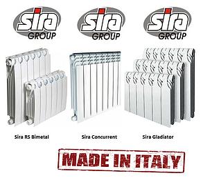 Батареи отопления биметалл Sira Concurrent 500*85. 100% Италия, фото 2