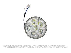 Вставка в фару круглая LED Альфа (6 диодов) TMMP