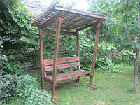 Скамейка с крышей, фото 1