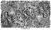 Серия Flowers (Оригинал) размер 10х16см