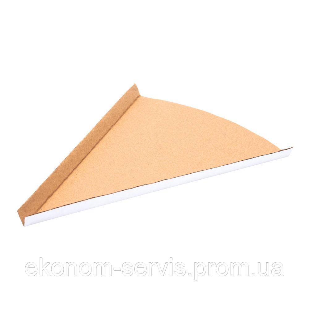 Бумажный уголок (для пиццы 500*500), 250*190