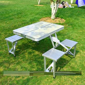 Раскладной стол для пикника со стульями, фото 2