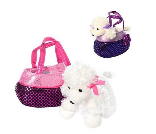 Собачка в сумочке 2 короткие ручки, фото 2