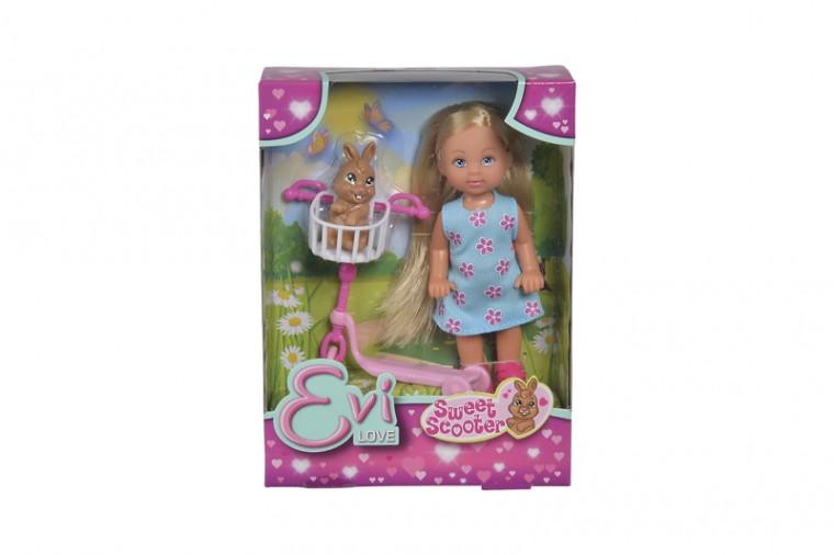 Игровой набор кукла Эви Чудесный скутер с зайчиком Еви Simba 5733338