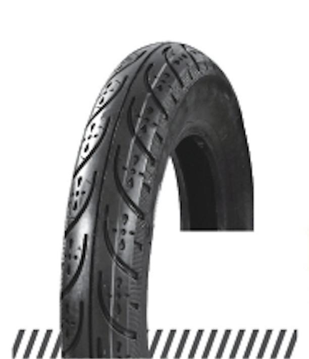 Покрышка хорошего качества для скутеров слик 6PR (46% каучука) 3.00-10 AND DX-011