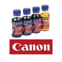 Комплект чернил WWM Canon Carmen Black, Cyan, Magenta, Yellow, 4 х 100 мл, краска для принтера кэнон