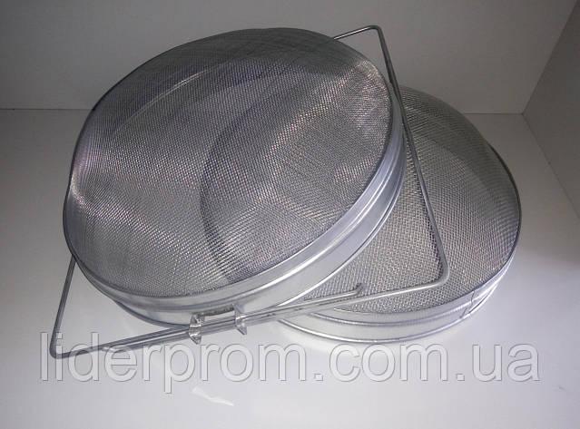 Фильтр-сито двойной  для меда 300 мм. нержавеющая сталь, фото 2