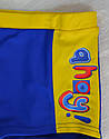 """Детские купальные боксерки для мальчика """"Ahoy"""" сине-желтые (KEYZİ, Польша), фото 2"""