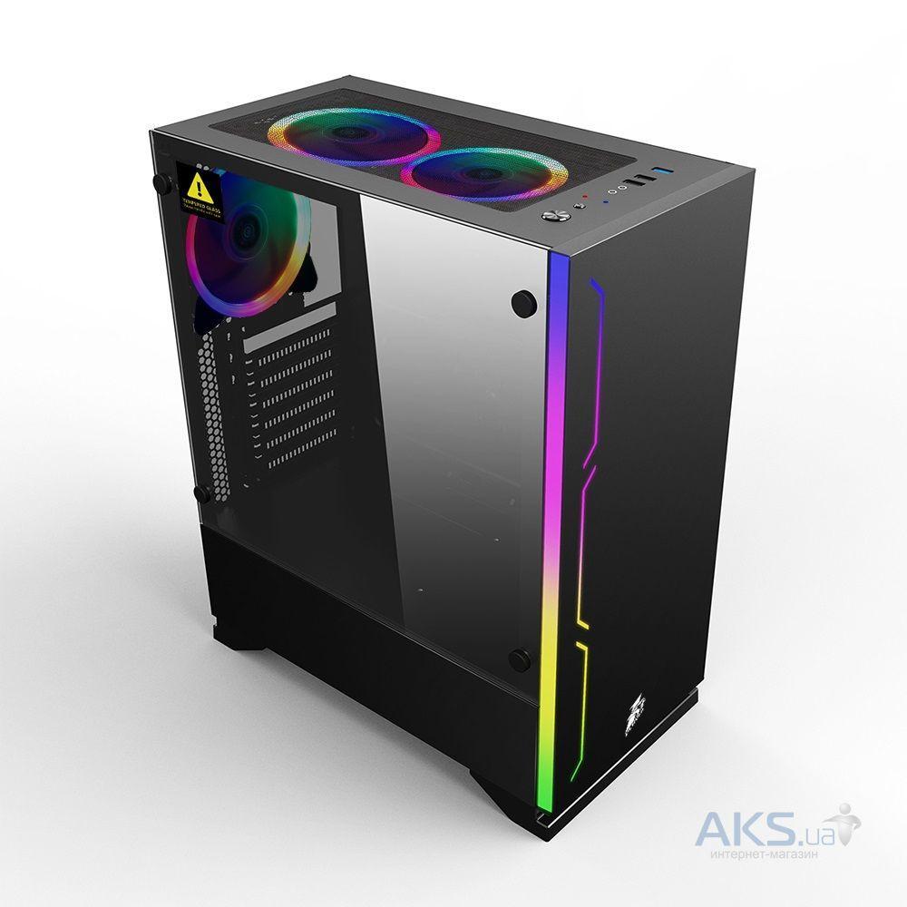 Корпус для ПК 1stPlayer Корпус B6-R1 Color LED Black без БП