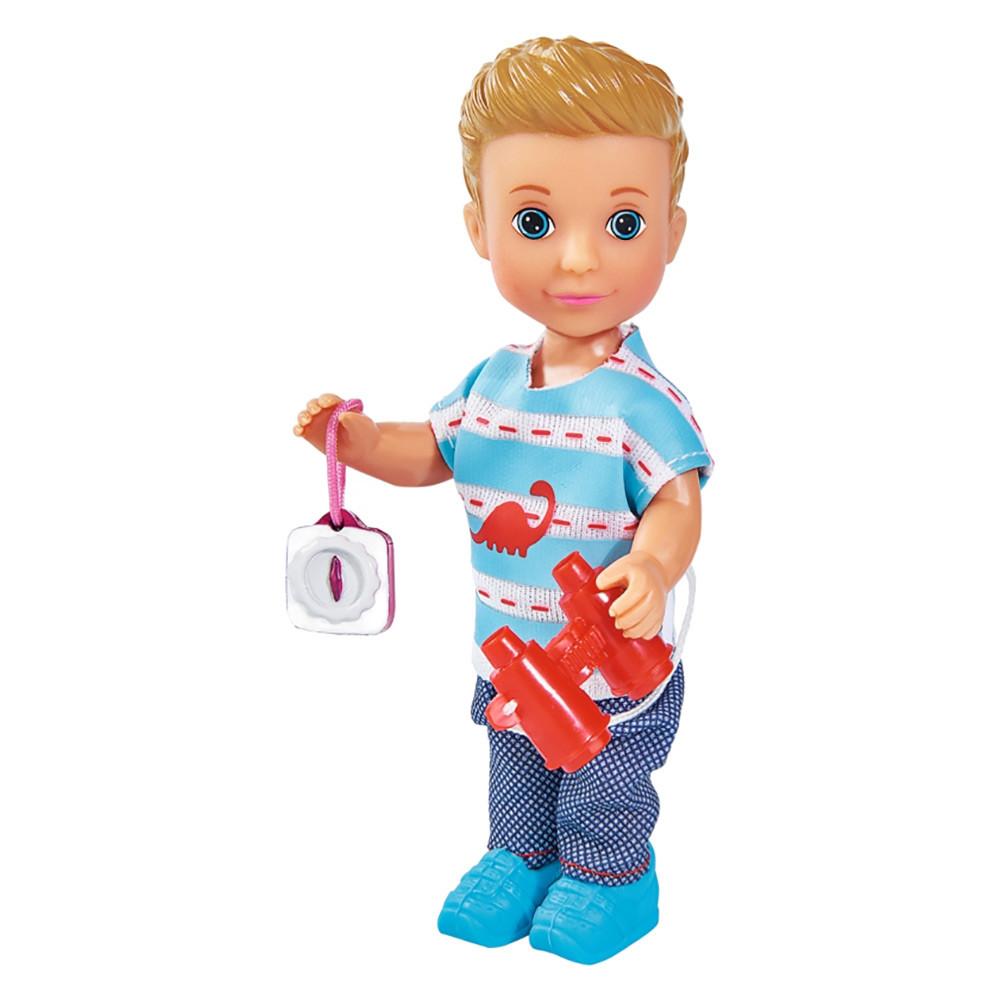 Кукольный набор кукла Тимми Прогулка с питомцем с аксессуарами Simba Toys Evi Love 12 см 5733230