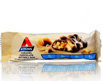 Atkins - Карамель и арахис покрытый шоколадом