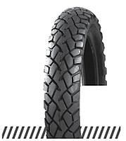 Покрышка хорошего качества для скутеров 6PR (60% каучука) 3.50-10 OCST DX-032