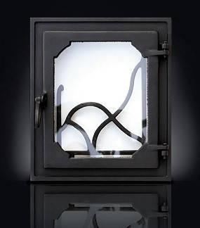 Печные дверцы DELTA Rama 350х400, фото 2