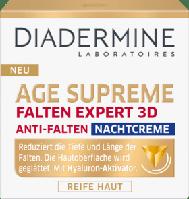 Diadermine Falten Expert 3D Hyaluron-Aktivator Nachtcreme - Ночной крем для лица против морщин, 50 мл