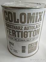 Автокраска 202 Белая COLOMIX алкидная краска 0,8л