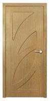 Дверь межкомнатная Модель Пальмира (глухая), дуб 18