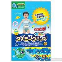 Трусики-подгузники для плавания Goo.N для мальчиков от 12 кг ростом 80-100 см размер Big XL 3 шт (753646)
