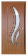 Дверь межкомнатная Модель САБРИНА (остеклённая), золотой дуб, фото 1