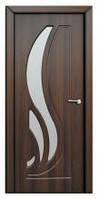 Дверь межкомнатная Модель САБРИНА (остеклённая), шоколадный орех, фото 1