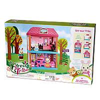 """Набор игрушечный """"Двухэтажный домик   с животными """", в коробке, 3+ 60233"""