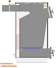 """Котел плита длительного горения """"Kuper"""" (Купер) мощностью 18 кВт  с механической автоматикой (регулятор тяги), фото 2"""