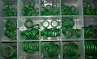 Набор резиновых уплотнительных колец для автокондиционеров (270 шт)