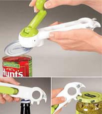 Открывашка консервный нож 7 в 1 Kitchen CanDo, фото 2