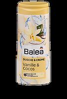 Крем-гель для душа для нежной и мягкой Balea Vanille&Cocos 300 ml