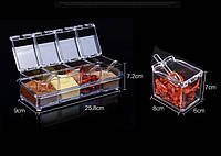 Органайзер для хранения приправ Cristal seasosing box