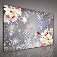 "Картина на холсте ""Цветы: Магнолии"" 80х60 см (PP2133O6)"