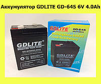 Аккумулятор GDLITE GD-645 6V 4.0Ah!Лучший подарок