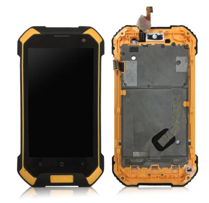 Дисплей з тачскріном і рамкою на Blackview BV6000 Помаранчевий