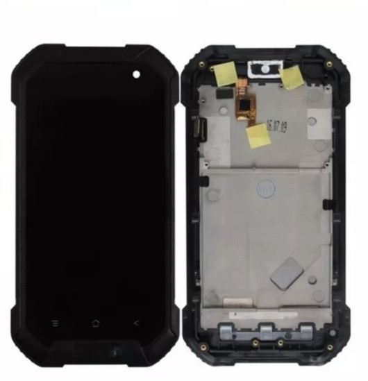 Дисплей з тачскріном і рамкою на Blackview BV6000S Чорний