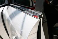 Окантовка окон (4 шт, нерж) Седан - Mazda 3 2009-2013 гг.