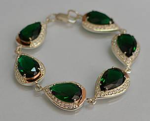 Браслет Silver Style из серебра с золотом