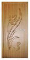 Дверь межкомнатная Модель ТЮЛЬПАН (глухая), золотой дуб