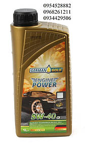 Масло 5W40 Engine Power C3 (1L)  GERMAN GOLD (Германия) 451032000