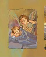 Схема для вышивки бисером на подрамнике (холст) Детский ангел