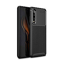 Чехол Carbon Case Huawei P30 Черный