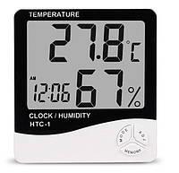 Термометр-Гігрометр 3в1 HTC-1 White (2_000529)