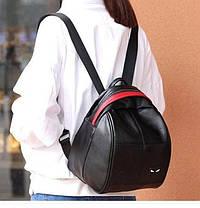 Стильный оригинальный рюкзак с значком Глаза, фото 2