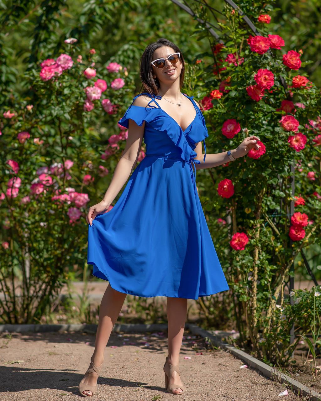 Модное летнее платье 4054