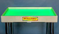 Стол светодиодный 700×500 для рисования песком Ясень цветной светодиод. А11