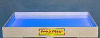 Планшет светодиодный Макси 1000×600 для рисования песком Ясень цветной светодиод. А14