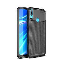 Чехол Carbon Case Huawei Y7 Pro 2019 Черный