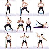 Фитнес резинки набор 5 штук | Резинки для спорта, фото 9