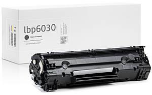 Картридж Canon i-Sensys LBP6030 (LBP-6030) совместимый, чёрный, ресурс 1.600 копий, аналог от Gravitone