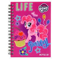 Блокнот на спирали Kite My Little Pony LP19-226, А6, 80 листов, клетка