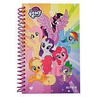Блокнот на спирали Kite My Little Pony LP19-221, 80 листов, нелинованный